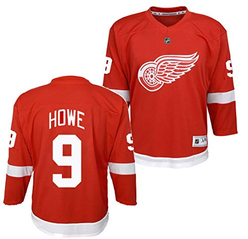 Youth Gordy Howe Detroit Red Wings Jersey - Imprinted (Youth L-XL)