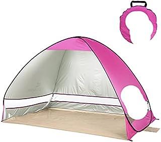Strandtält automatiskt tält bärbart utomhus campingtält fiske vandring solskydd 200 x 120 x 130 cm