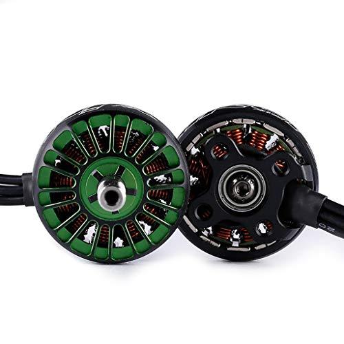 UKtrade Alto rendimiento 2208 1700/1800/2150/2450KV diseño colorido sin escobillas Motor 2-6S para FPV Drone 2Pcs (2450KV)