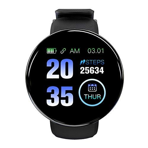 Zwbfu Orologio sportivo intelligente Touch da 1,3 pollici Braccialetto intelligente Frequenza cardiaca Monitoraggio della pressione sanguigna Modalità multi-sport Sonno scientifico Promemoria