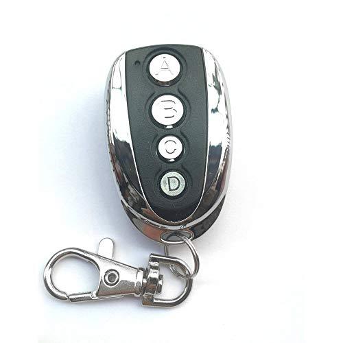 Silverdee Drahtlose automatische Fernbedienung Klontor für Garagentor-Duplikator Metall 4-Tasten-Fernbedienung für tragbare Schlüsselkopien