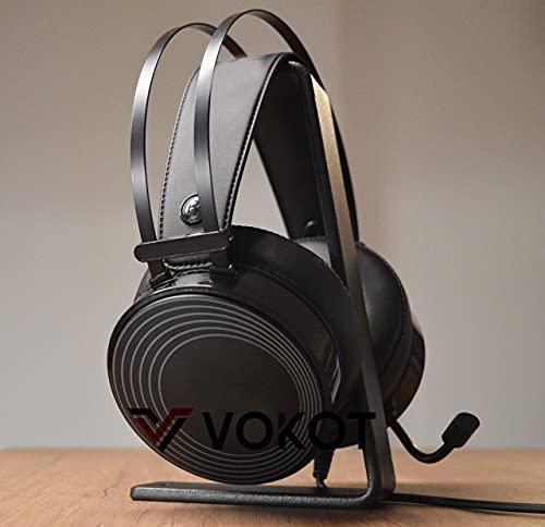 Vokot Wonder SUPPORTO Per Cuffie GAMING Universale Stand Per Scrivania Made in Italy In Ferro Linea Industrial In SCATOLA ECOSOSTENIBILE - SENZA PLASTICA - ANTISPRECO