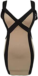 Night Out & Cocktail Dress For Women Size M, Beige