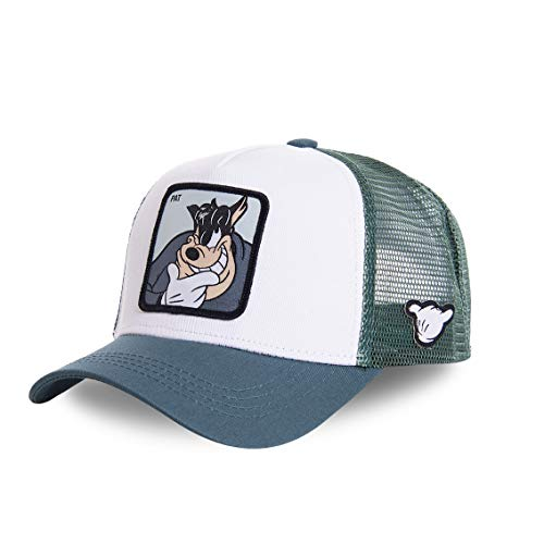Capslab Kater Karlo Trucker Cap Disney Collab White/Green - One-Size