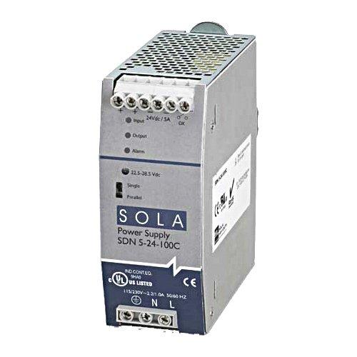 Sola/Hevi-Duty SDN2.5-24-100P DC Power Supply, 24 VDC, 2.5 Amp, 47-63 Hz