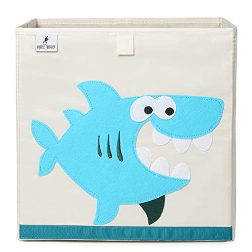 Caja de almacenamiento para niños I Caja de juguetes para habitación infantil (33 x 33 x 33 cm) para almacenamiento en estantería Kallax I Caja plegable de almacenamiento de juguetes para niño