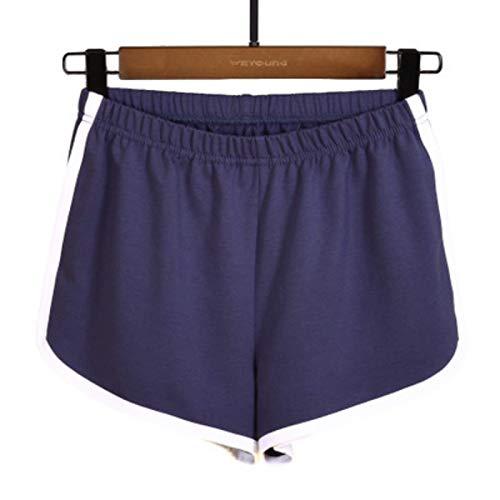 Pantalones Cortos para Mujer Verano Yoga Pantalones Cortos Deportivos para Correr Ocio Inicio Fitness Baile Pantalones Cortos Casuales S