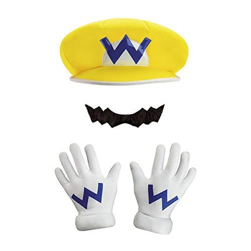 Generique - Nintendo Wario Kostüms-Set Lizenzartikel