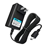 PwrON DC 5V 2A Mini USB Power Supply Replacement Leapfrog Kids Tablet Fits for LeapPad 3, LeapPad Platinum, LeapReader, LeapPad Ultra XDi - 6.6ft Long Cable