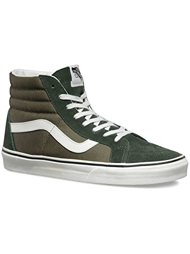 Vans Baskets Sk8-Hi Reissue pour homme - - Sac à dos Burnt 2 tons, 4.5