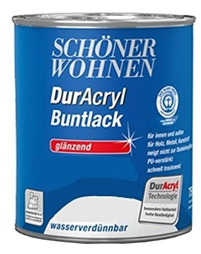 Schöner Wohnen Lack Farbe Ral 3583 Malve 3x125 375 ml wasserverdünnbar Bowatex