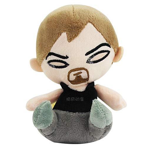 SSTOYS 15cm kreative Puppe Horrorfilm Figur Plüschtier Mini Q Version Puppe Kindergeburtstag Geschenk-F-Stil