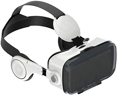 Auriculares de VR Auriculares Bluetooth VR Auriculares VR para la Pantalla de teléfono Inteligente de 4.7-6.5 Pulgadas Soporte Android y iOS Adecuado para iPhone 11 Pro/iPhone XS MAX/iPhone 8