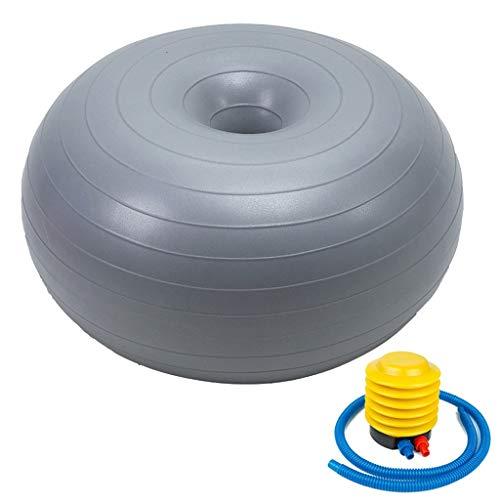 Bola de ejercicios de bola de yoga Bola del balance de la bola Herramienta de formación Yoga PVC bola dona Trainer ejercicio Estable Yoga bola aparatos de gimnasia for Gimnasio Oficina de gimnasia Bal
