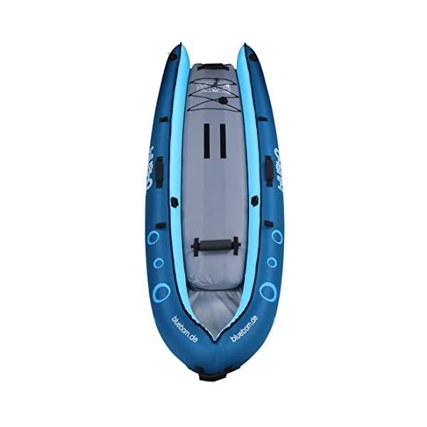 Blueborn Coasteer SRE240 Sit-On-Top Boat 1 person 240x88 cm canoe, kayak, inflatable boat, blue