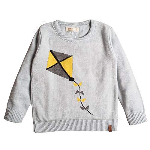 Suéter infantil tricô masculino pipa (2 anos)