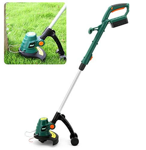 Multifunctionele draagbare elektrische grasmaaier met intrekbare stang, 180 ° verstelling Huishoudelijke grasmaaier met laag geluidsniveau