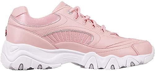 Kappa Damskie buty sportowe Felicity Romance, różowy - Czerwony Rosé White 2110-37 eu