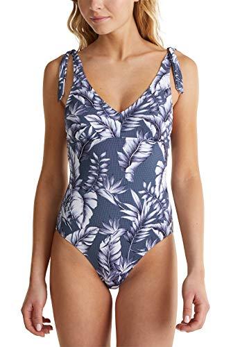 ESPRIT Wattierter Badeanzug mit Print