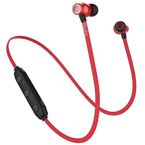 Abafia Cuffie Bluetooth, Cuffie Sportivo Auricolare In-ear Bluetooth V5.0 con Microfono Incorporato...