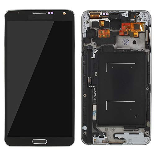 MOVILSTORE Pantalla Completa LCD + Tactil + Marco Compatible con Samsung Galaxy Note 3 N9005 Negro