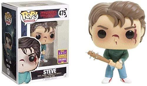 ELSVTECH Stranger Things # 475 Steve (Attaque) Pop! Multicolor