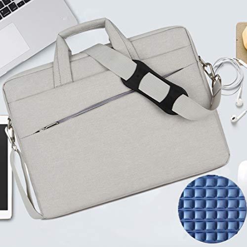 Draagtas voor notebooks met draagtas, waterdicht voor mannen en vrouwen, laptoptas met schokbestendige voering, laptophoes voor HP, Acer, Lenovo, Asus, Dell