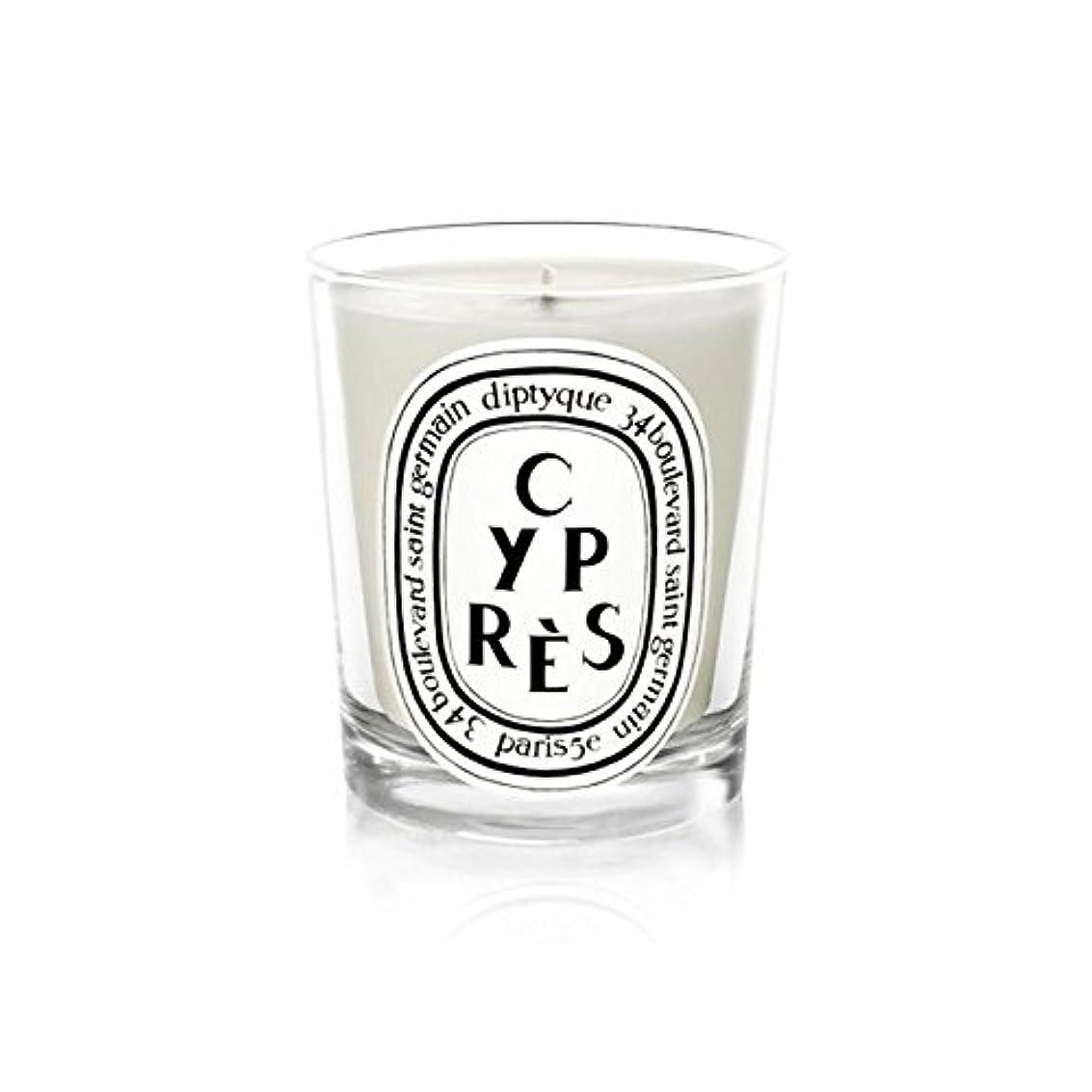 劣る聞きますチャンピオンシップDiptyqueキャンドルCypr?s/ヒノキ190グラム - Diptyque Candle Cypr?s / Cypress 190g (Diptyque) [並行輸入品]