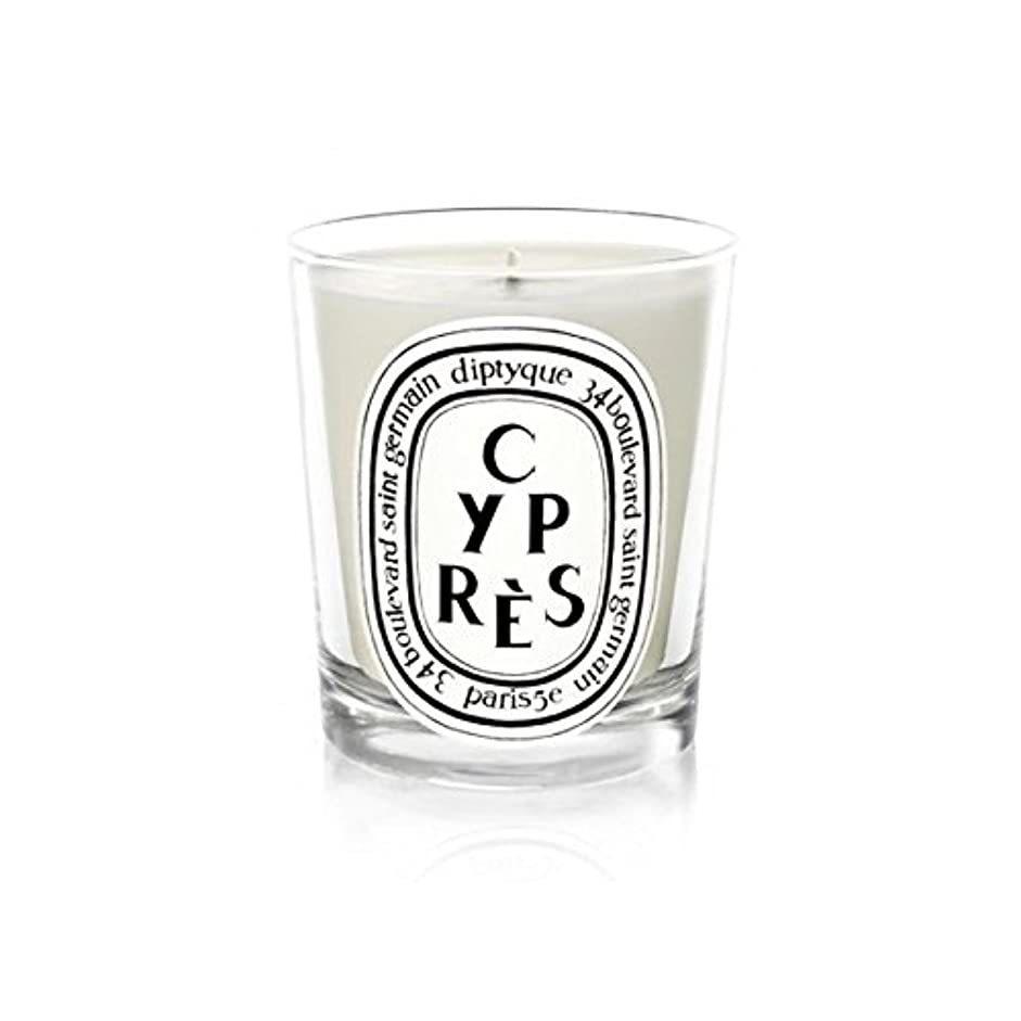 問い合わせ場合鳥DiptyqueキャンドルCypr?s/ヒノキ190グラム - Diptyque Candle Cypr?s / Cypress 190g (Diptyque) [並行輸入品]