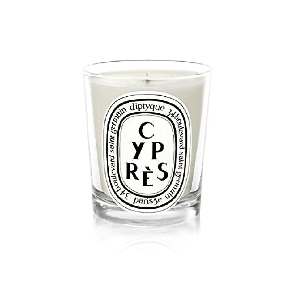 受粉する常識アレンジDiptyqueキャンドルCypr?s/ヒノキ190グラム - Diptyque Candle Cypr?s / Cypress 190g (Diptyque) [並行輸入品]