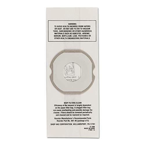 Shop-Vac - Specialty Vac Filters Hippo Filter Bag: 677-901-46