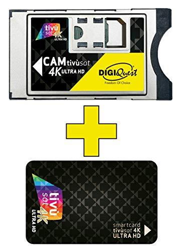 DIGIQUEST CAM Tivùsat 4K + 3 mesi gratis INFINITY