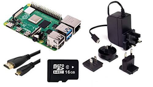 Raspberry Pi 4 Modell B, 2-GB-Kit