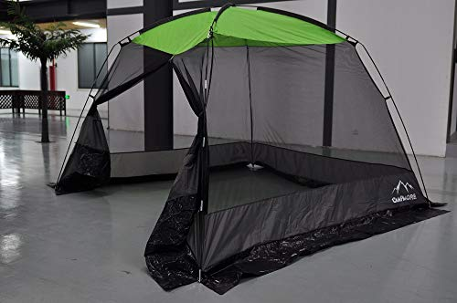CAMPMORE 10 x 10 Feet Mesh Screen House Canopy Tent for Backyard and Camping