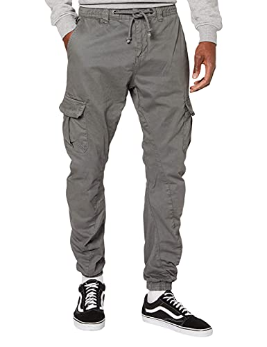 Urban Classics Cargo, Pantaloni Jogging Uomo, XX-Large, Grau (darkgrey 94)