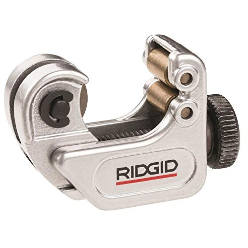RIDGID 32975 Model 103 Close Quarters Tubing Cutter, 1/8-inch to 5/8-inch Tube Cutter , Silver , Small