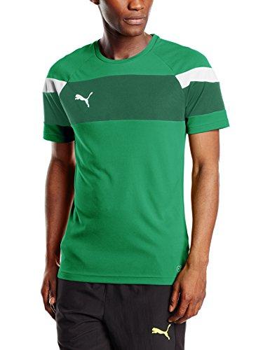 PUMA T- Shirt Spirit II Leisure Maillot Homme, Power Vert/Blanc, X-Large