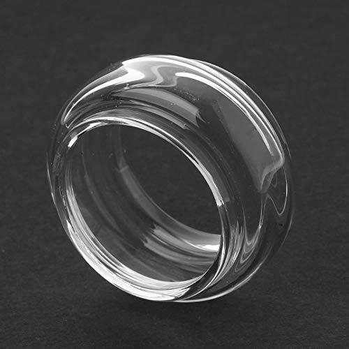 Denghui-ec, Reemplazo 8.5ML Capacit Bulb Clear Pyrex Glass Tube Tanque de Vidrio for SMOK Stick V9 MAX Atomizer Stick V9 MAX Kit, Sin Tabaco ni nicotina