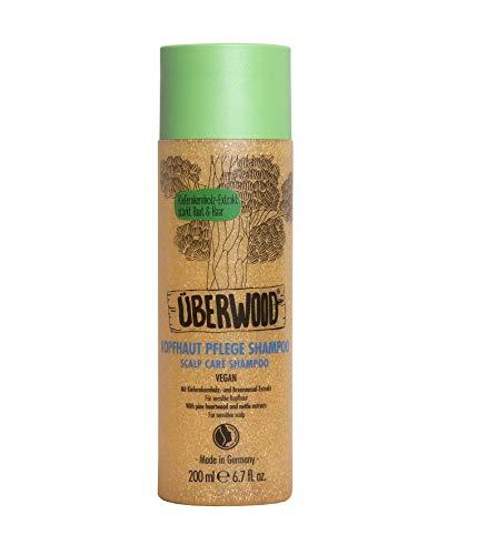 Überwood - Kopfhaut Pflege Shampoo für sensible Kopfhaut - 200 ml