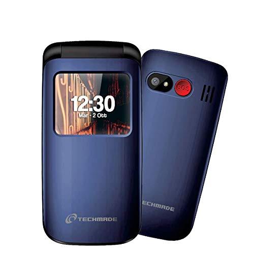 SENIOR FLIP PHONE T40-BL