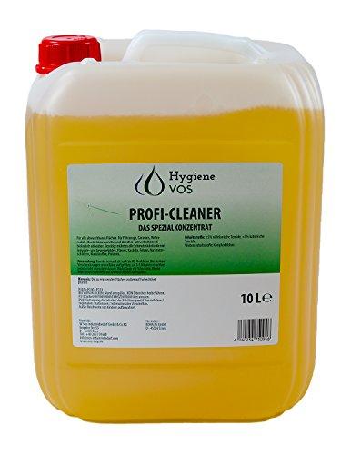 Hygiene VOS Profi Cleaner Spezialkonzentrat 10 Liter Kanister Allzweckreiniger für Haushalt Wohnwagen Wohnmobil Caravan Boot Yacht
