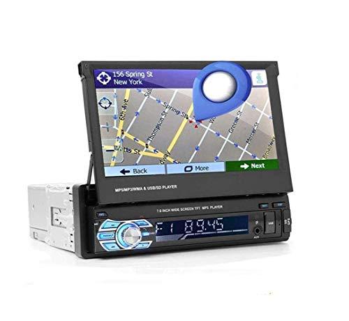 GOFORJUMP 7 '' SWM 9601G Autoradio aggiornato Lettore MP5 Radio AM FM Lettore MP5 / MP3 Elettronica per Auto Nera Bluetooth 9601G con Scheda 8G