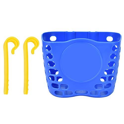 Yinuoday - Cesta para bicicleta infantil (mimbre), unisex-kids, azul