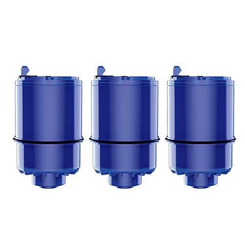 Maxblue RF-9999 NSF Certified Water Filter, Replacement for Pur RF9999 Faucet Water Filter, Pur Faucet Model FM-2500V, Pur-0A1, FM-3700, PFM150W, PFM350V, PFM400H, PFM450S (Pack of 3)