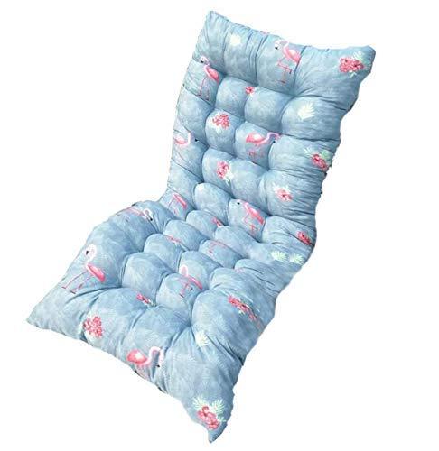 AISHANG Sun Lounger Cushions Pads Recliner Soft Comfortable Replacement Mattress Pad Non-slip Chair Seat Mat For Garden Courtyard (175x48x6CM)