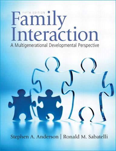 Family Interaction: A Multigenerational Developmental Perspective