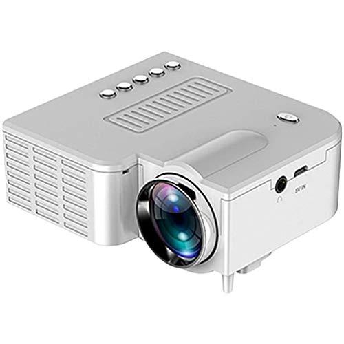 SZYZ Proyector portátil uc28 Mini proyector 3D Mini proyector de Video de película Negro