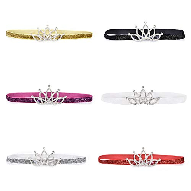 Crown net yarn baby hair belt gatxtz7964008