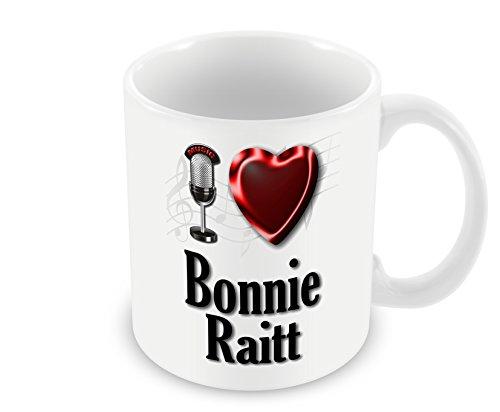 Chalkhill Printing Company CP PopFemale_013 Pop Artiest Mok (Vrouwelijke) - Ik hou van Bonnie Raitt