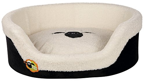 Trixie 36880 Shaun das Schaf Bett, 55 x 54 cm